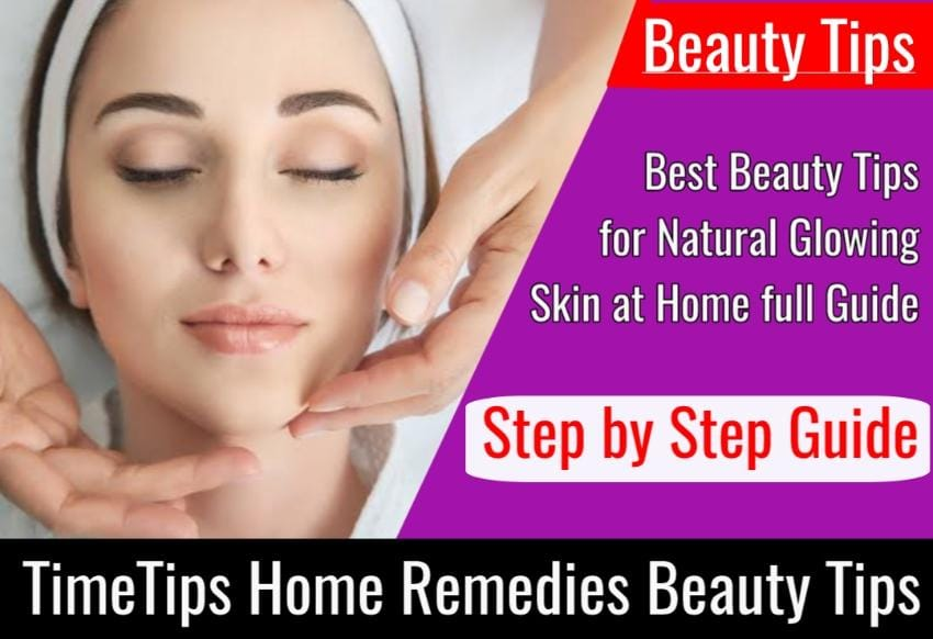 Natural Skin Care Beauty Tips for Face at Home Homemade Beauty Tips