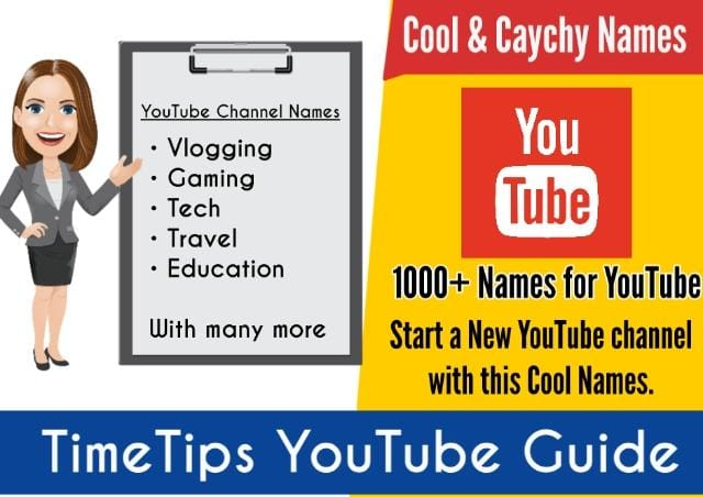 Youtube Channel Name Ideas Lucky Names for Youtube Channel