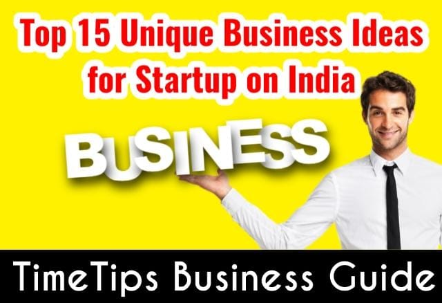 unique business ideas for startups in India